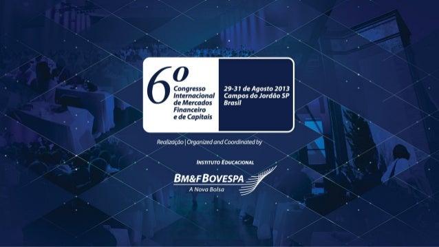 CONARH 2013 Monica Baumgarten de Bolle Sócia-Diretora Galanto | MBB Consultoria Managing Director Galanto | MBB Consultori...