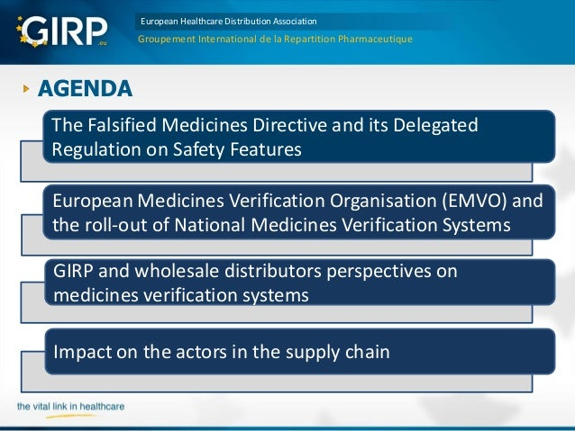 Medicines Verification Systems in Europe – a perspective