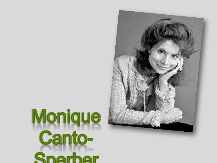Monique Canto-Sperber<br />