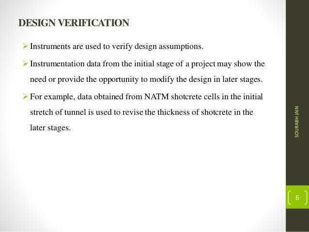 Underground Structures Design and Instrumentation