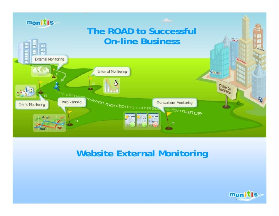 The ROAD to Successful      On-line Business     Website External Monitoring
