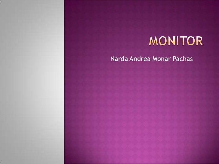 Narda Andrea Monar Pachas