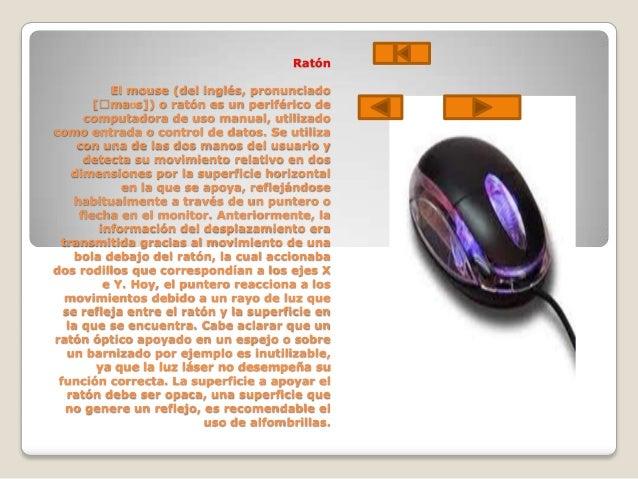 Conclusiones Las partes de la computadora son fundamentales ya que por medio de ellos podemos accesar al sistema de la com...