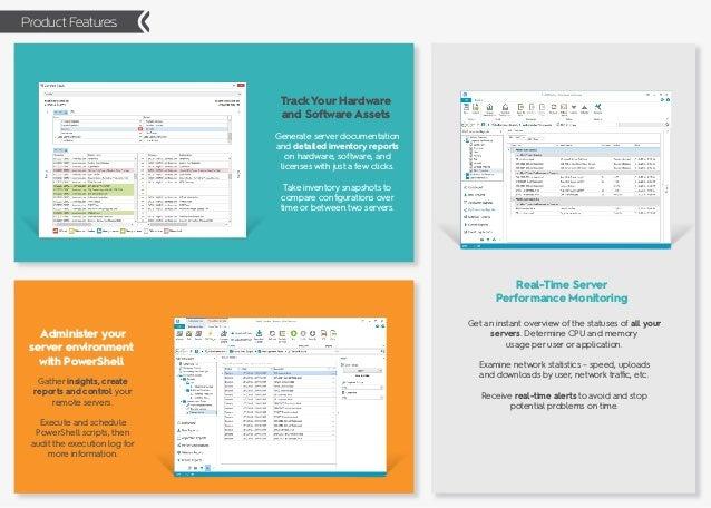Enterprise Server Monitoring & Administration Tool - SysKit