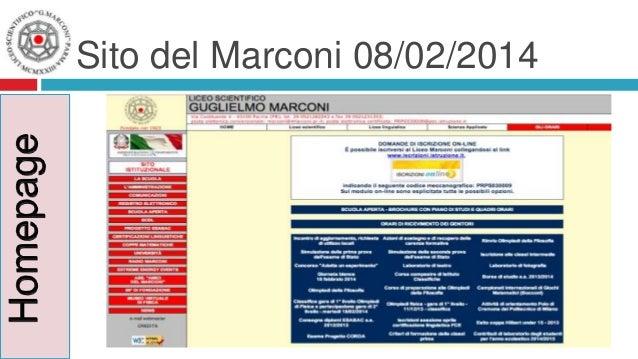Sito del Marconi 08/02/2014