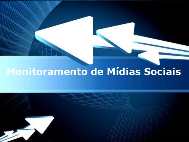 Monitoramento de Mídias Sociais           Powerpoint Templates                                  Page 1
