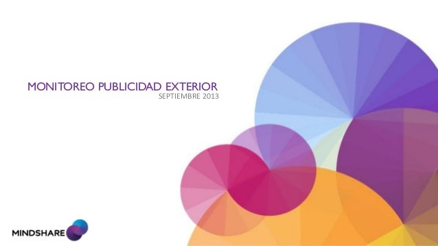 SEPTIEMBRE 2013 MONITOREO PUBLICIDAD EXTERIOR