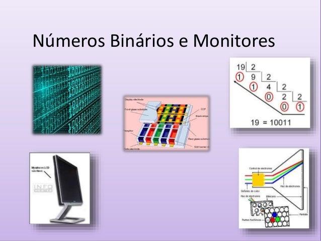 Números Binários e Monitores
