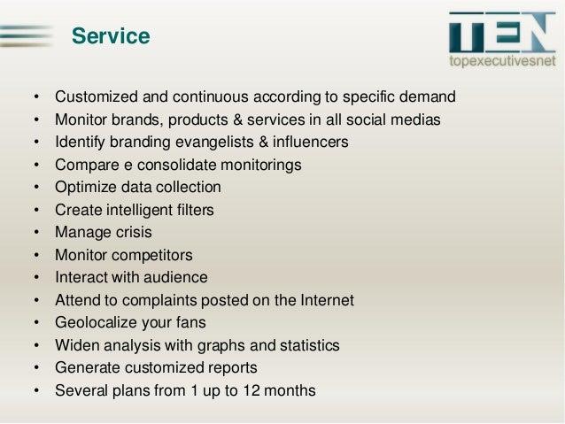 TEN Digital - Social Media Monitoring Slide 2