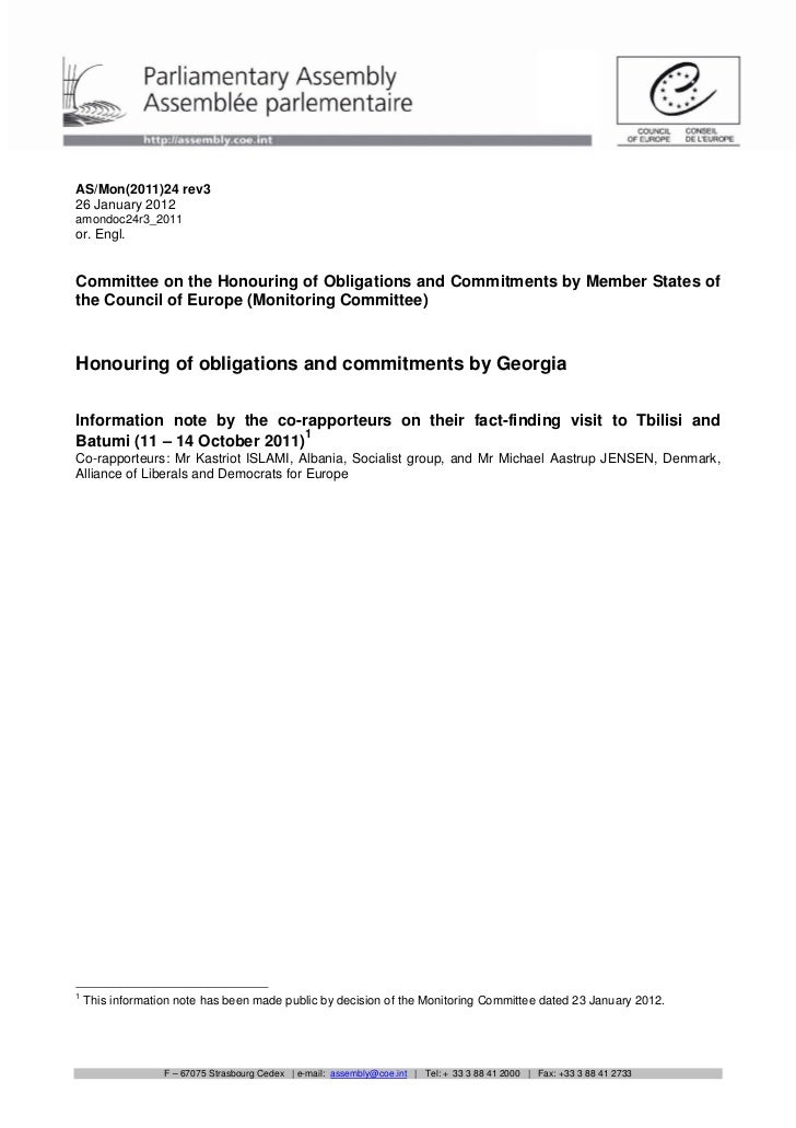 AS/Mon(2011)24 rev326 January 2012amondoc24r3_2011or. Engl.Committee on the Honouring of Obligations and Commitments by Me...