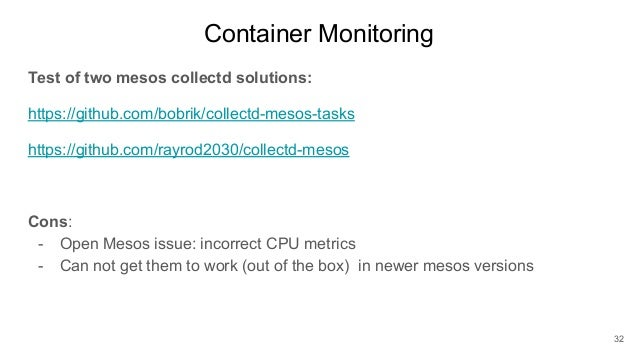 Erik Skytthe - Monitoring Mesos, Docker, Containers with