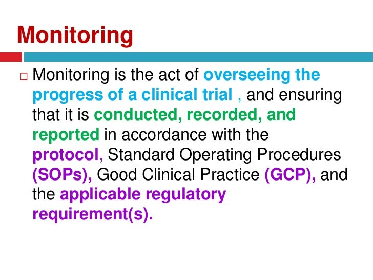 Clinical Trial Monitoring Services - PPD
