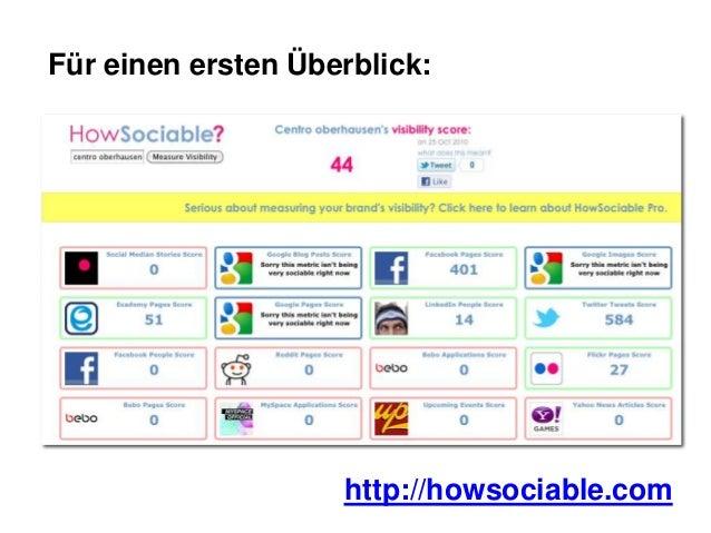 Kostenlose Social Media Monitoring Tools Slide 2