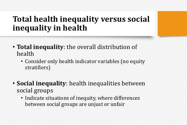 types of social inequalities Ess topline results series social inequalities in health and their determinants: topline results from round 7 of the european social survey.