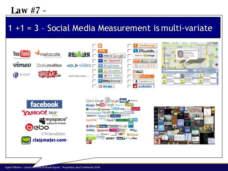 1 +1 = 3 – Social Media Measurement is multi-variate Law #7 -