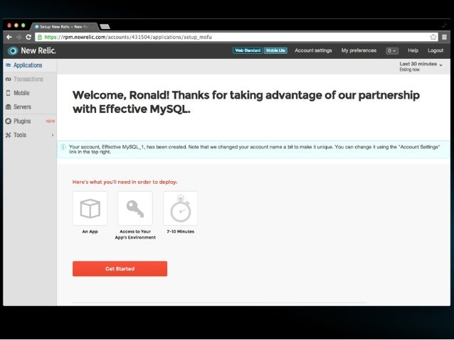 Application PHP/Ruby/.NET/Java/Python/Node.js  EffectiveMySQL.com - Performance, Scalability & Business Continuity