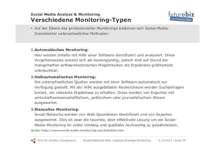 Social Media Analyse & MonitoringVerschiedene Monitoring-Typen! Auf der Ebene des professionellen Monitorings bedienen si...