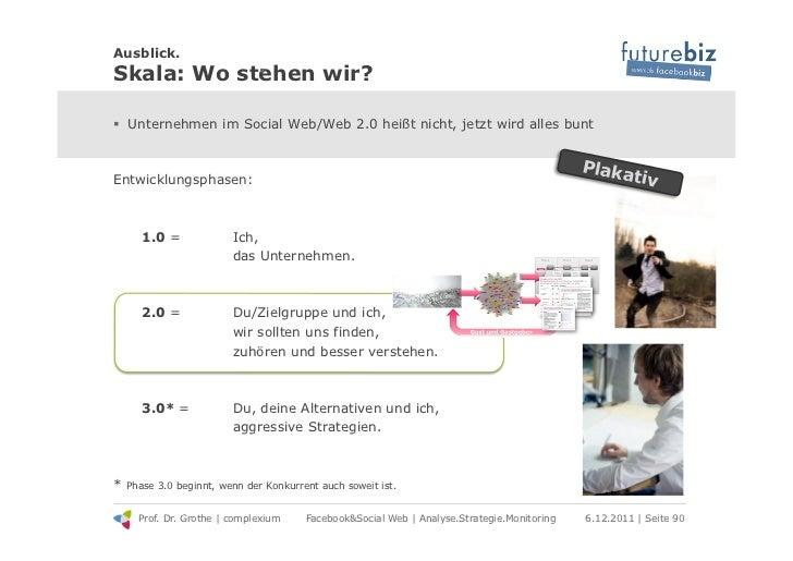 Ausblick.Skala: Wo stehen wir?            ! .! Unternehmen im Social Web/Web 2.0 heißt nicht, jetzt wird alles bunt     ...