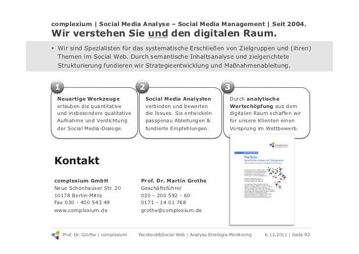 complexium | Social Media Analyse – Social Media Management | Seit 2004.Wir verstehen Sie und den digitalen Raum.! Wir si...