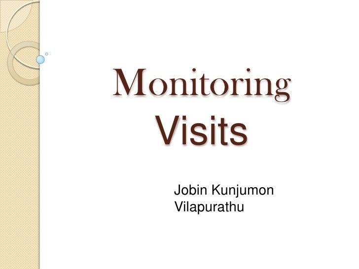 Monitoring Visits   Jobin Kunjumon   Vilapurathu