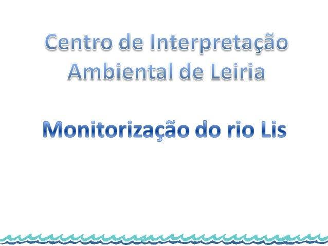 Monitorização do rio lis