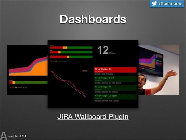 @tommoors  Dashboards  JIRA Wallboard Plugin aca-it.be - 2014