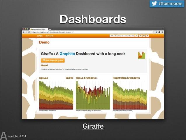 @tommoors  Dashboards  Giraffe aca-it.be - 2014