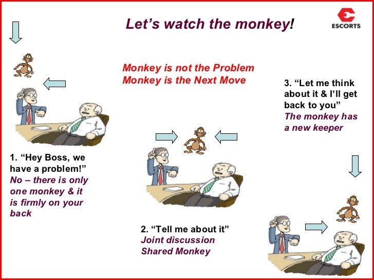 one minute manager meets the monkey summary pdf