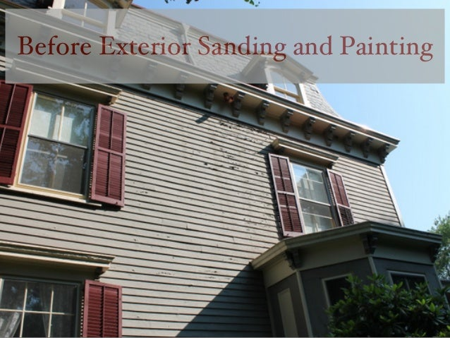 Monk 39 S Home Improvements Historic Home Exterior Paint Job