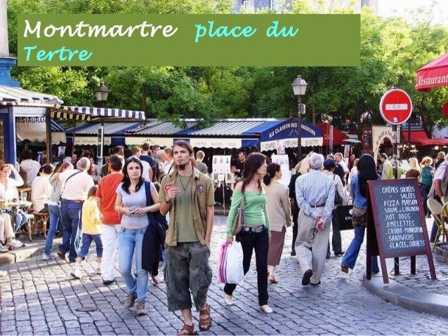 Montmartre les peintres . . place