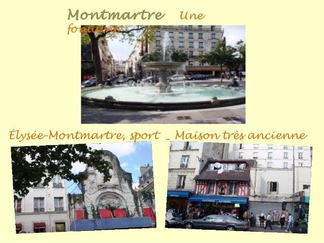 Montmartr e Vues sur la capitale
