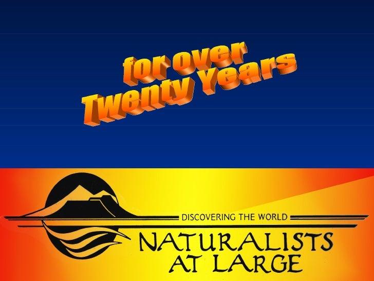 for over Twenty Years