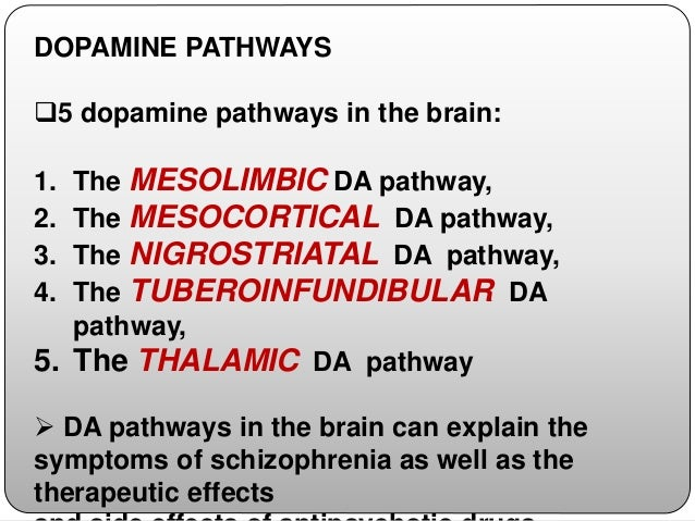 HYPO ACTIVITY OF MESOLIMBIC PATHWAY  lack of general motivation & interest,  anhedonia  negative symptoms,  drug abuse.
