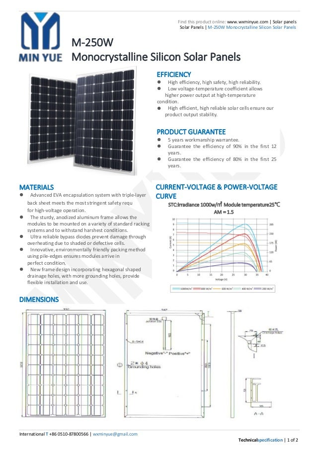 International T +86 0510-87800566 | wxminyue@gmail.com Technicalspecification | 1 of 2 Find this product online: www.wxmin...