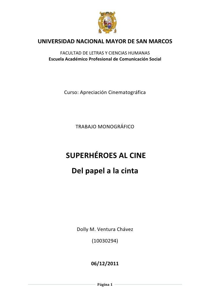 Superhéroes al Cine: del papel a la cinta