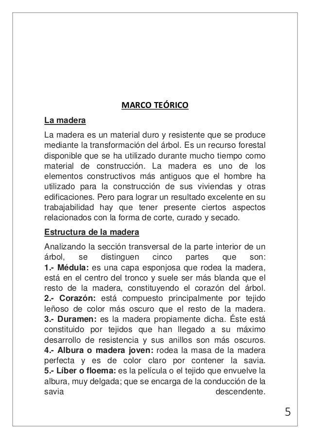 Materiales de construcción, Madera