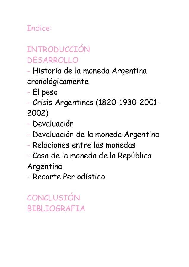 Monograf a sobre la moneda argentina - Casa de la moneda empleo ...