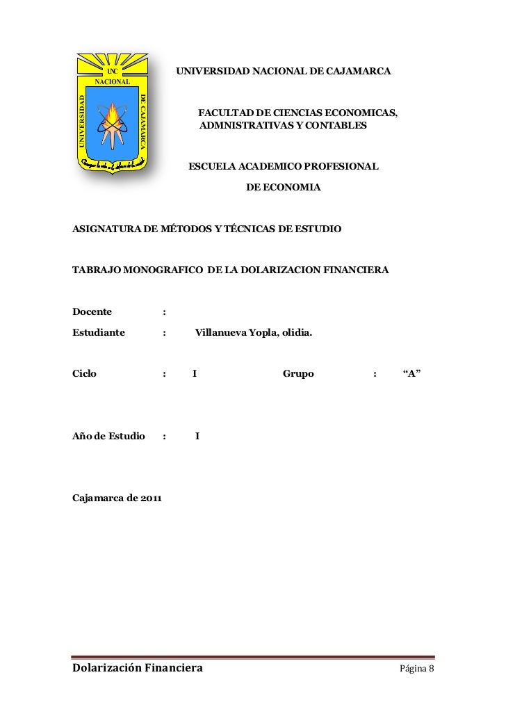 55939-203604UNIVERSIDAD NACIONAL DE CAJAMARCA<br />FACULTAD DE CIENCIAS ECONOMICAS, ADMNISTRATIVAS Y CONTABLES<br />ESCUEL...