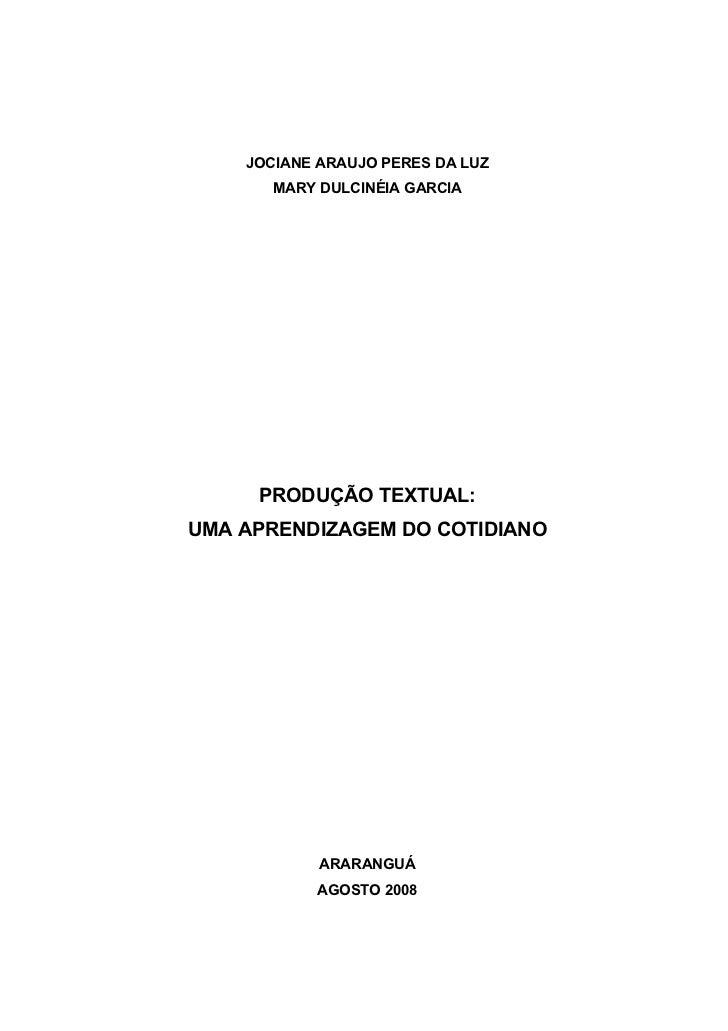 Monografia - Produção Textual