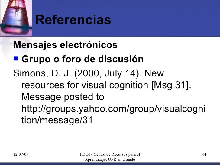 Referencias bibliograficas de libros ejemplos yahoo dating