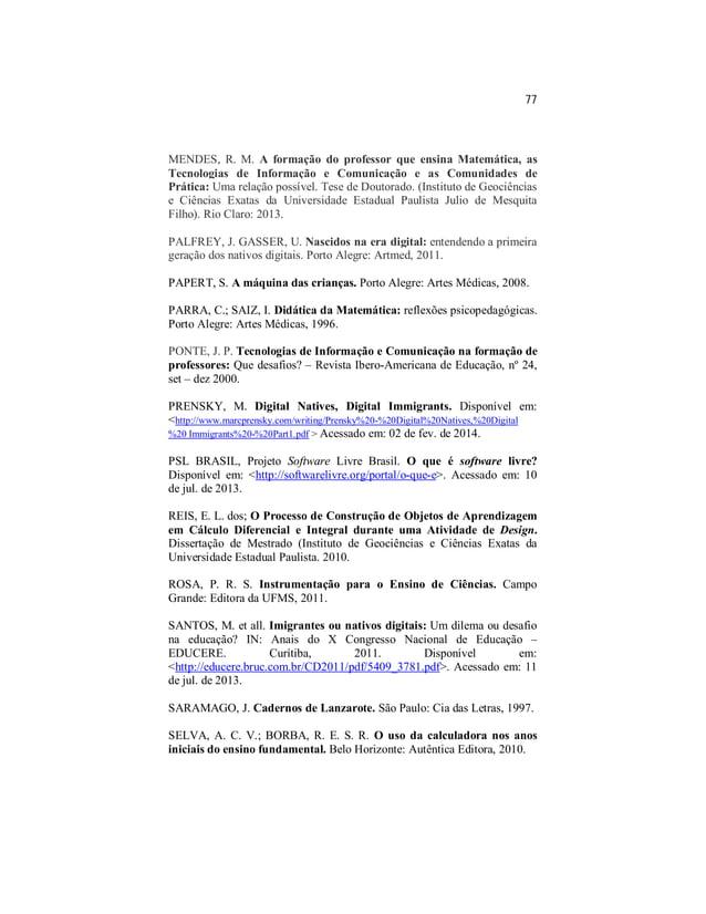 PoliKalc: A Criação de um objeto de aprendizagem para o ensino e a aprendizagem de cálculos aritméticos no ensino fundamental