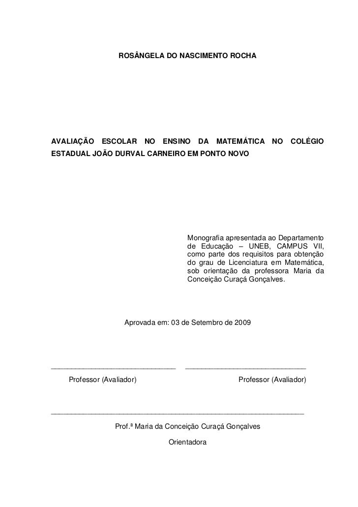 Monografia matematica