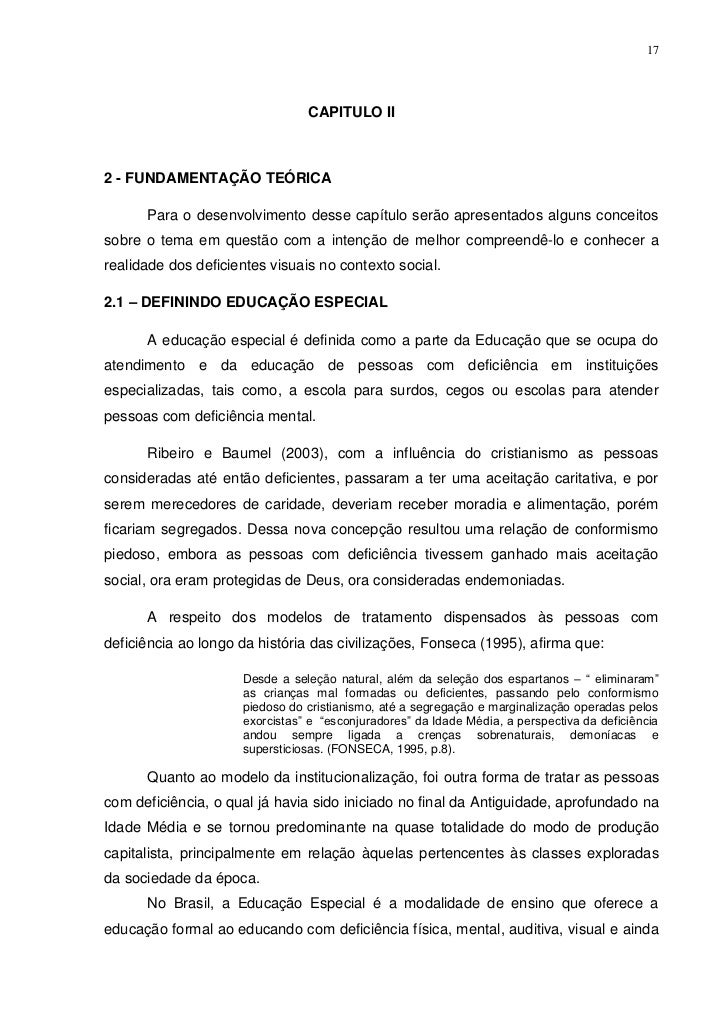 17                                CAPITULO II2 - FUNDAMENTAÇÃO TEÓRICA      Para o desenvolvimento desse capítulo serão ap...