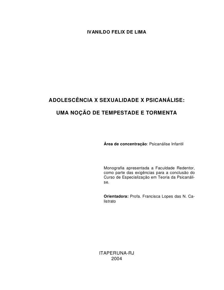 Curso de monografia