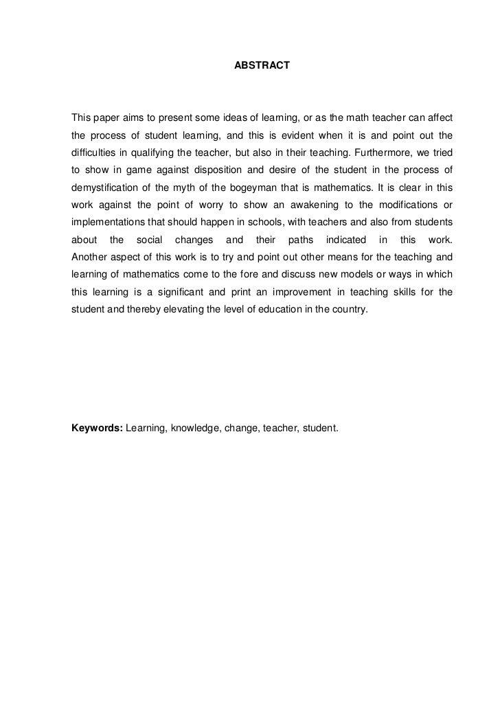 Teacher disposition essay