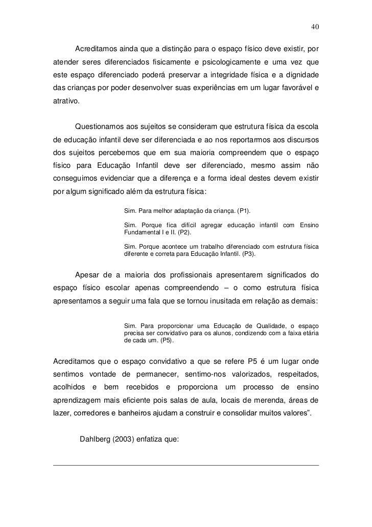 Monografia Gilmara Pedagogia 2011