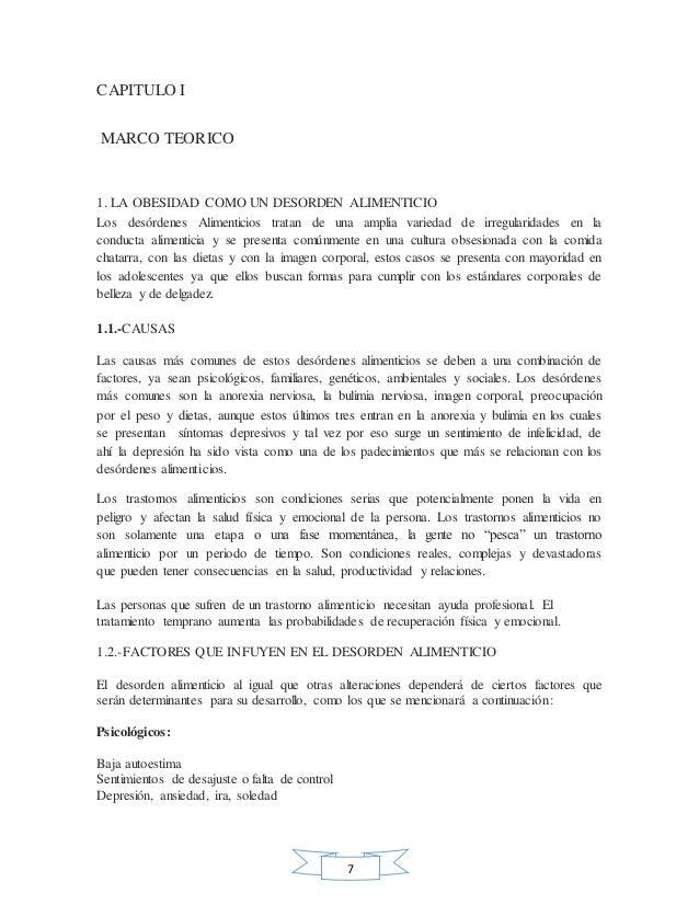 Monografia La Obesidad