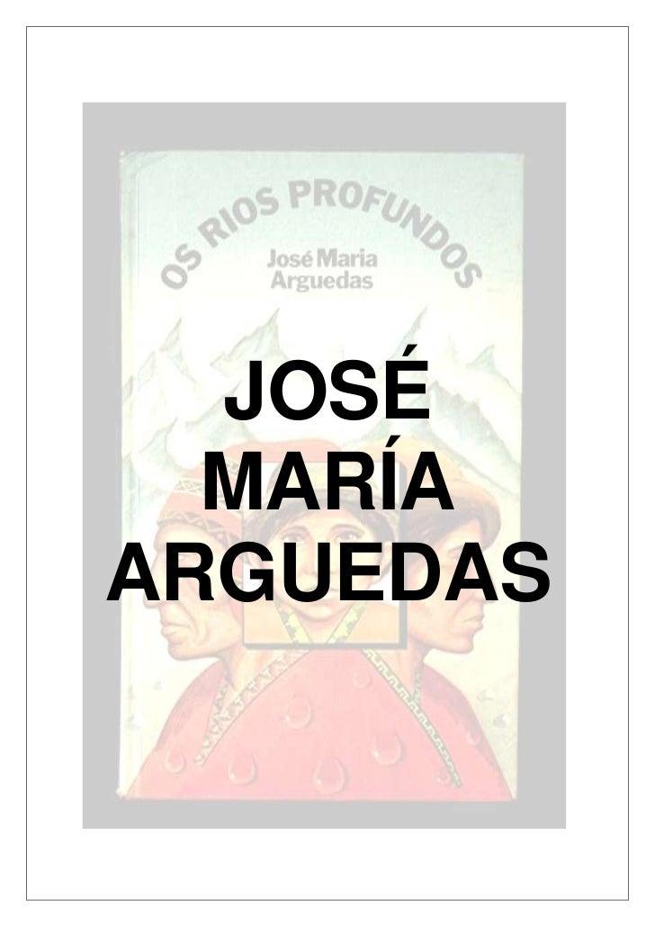 JOSÉ  MARÍAARGUEDAS