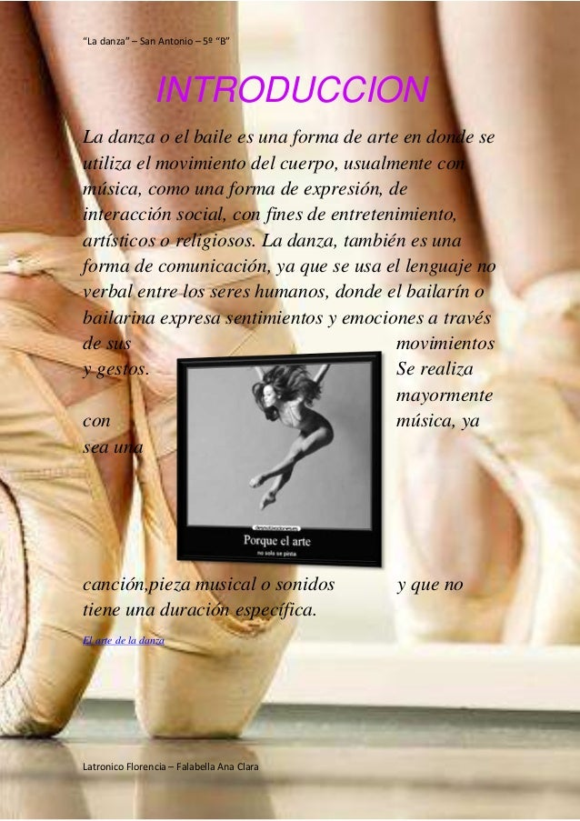 Pasión por la danza Slide 3