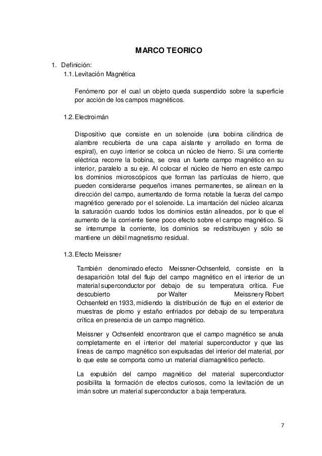 Monografía Levitación Magnética - Maglev